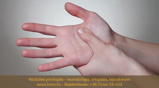 lehet-e gyógyítani a kézízületek fájdalmát)