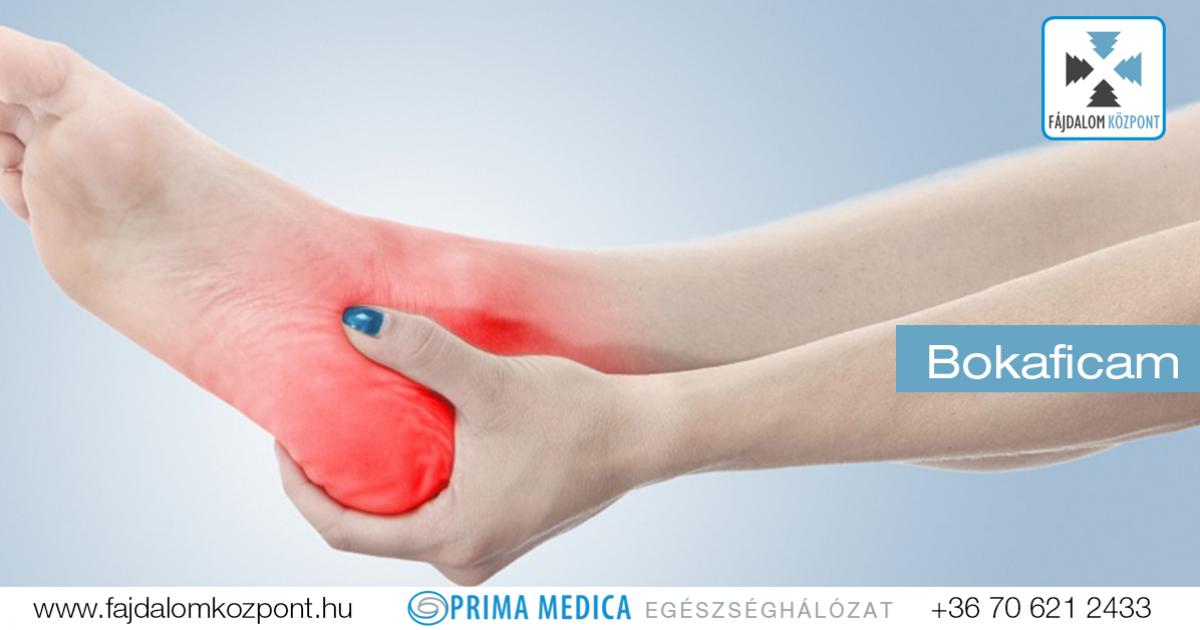 boka sérülés kezelése
