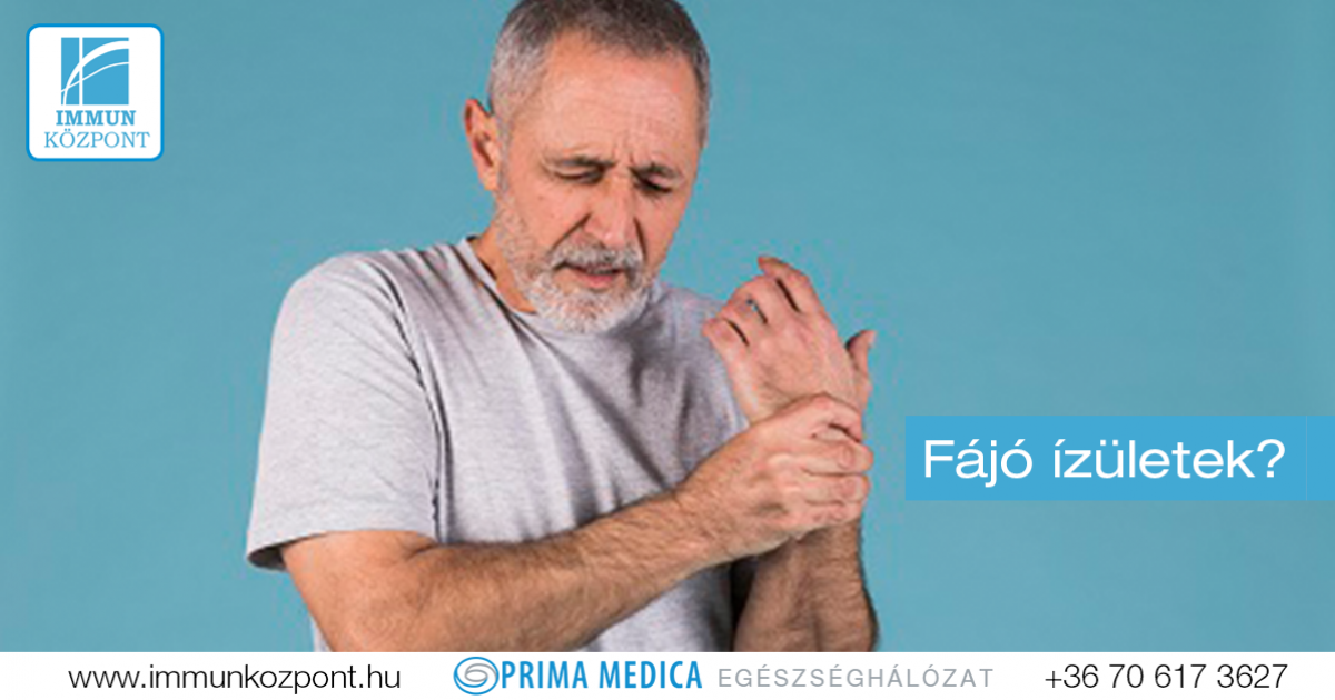 immunbetegségek és ízületek)