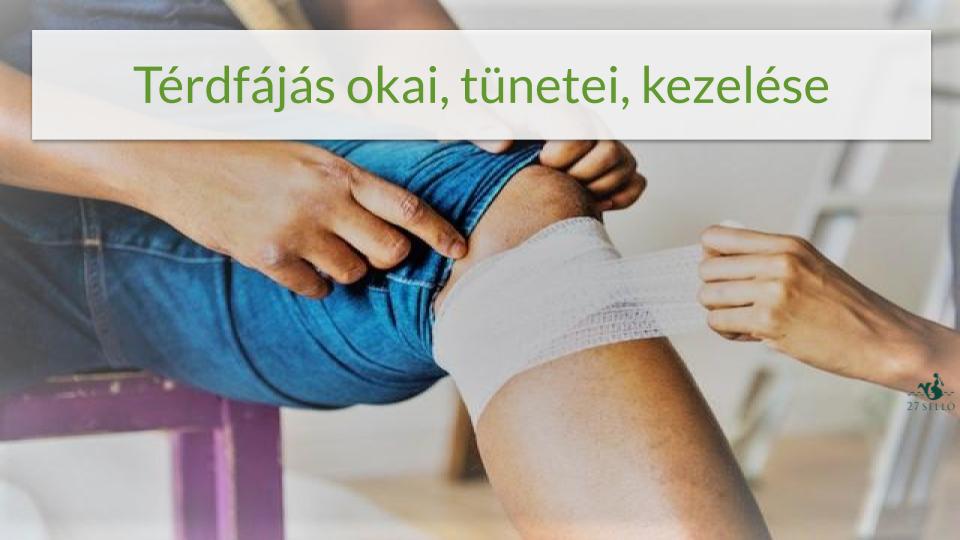 térdízületi elmozdulás artritiszével)