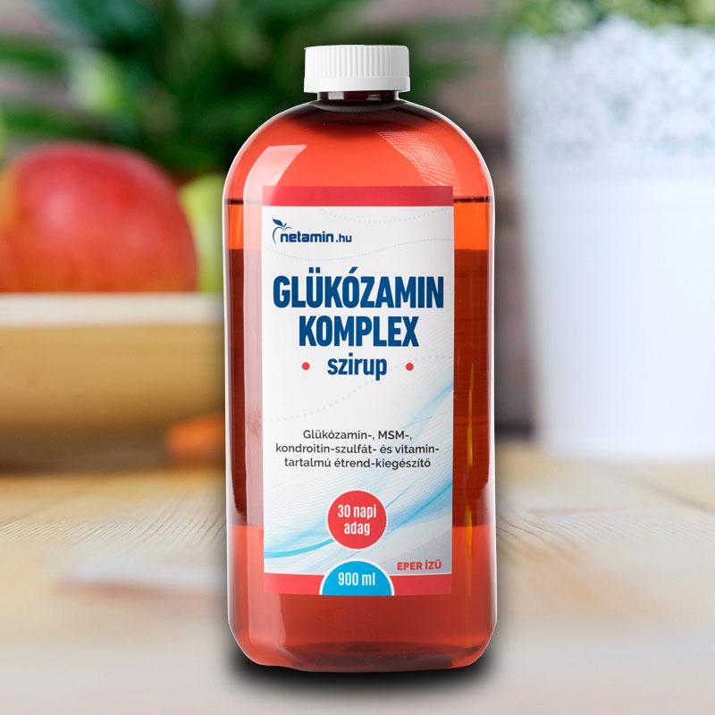 kondroitin glükózamin készítményekkel sportolók számára
