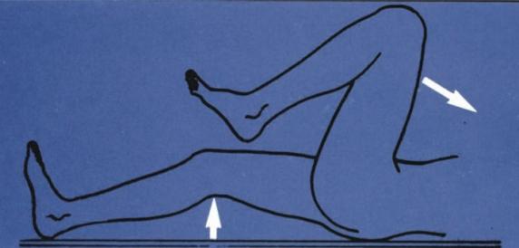 fájdalom a csípő és a térdízületek hátulsó részében