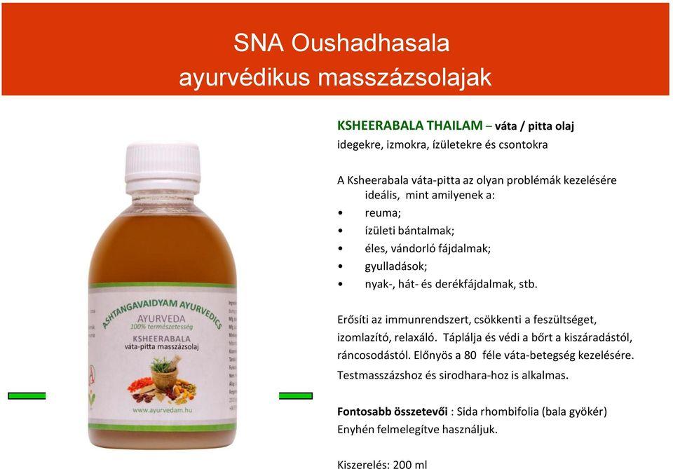 ayurvédikus gyógyszerek ízületekre