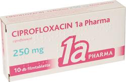 CIPROFLOXACIN-HUMAN 750 mg filmtabletta