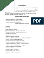 a perinatális kötőszövet diffúz gyulladása)