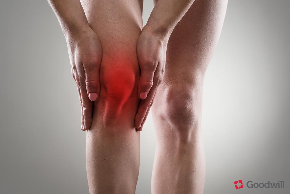 a lábak térdízületeinek gyulladása)