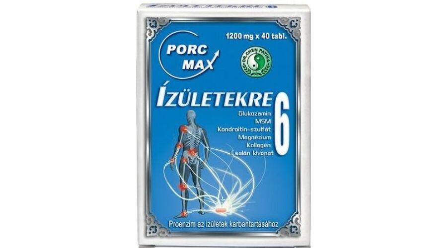 természetes kondroitin glükózaminnal)