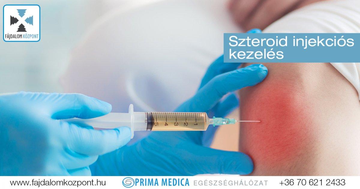 injekció neve ízületi fájdalomra