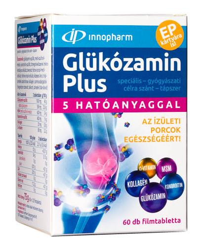 chondroxidot és glükózamint tartalmazó készítmények