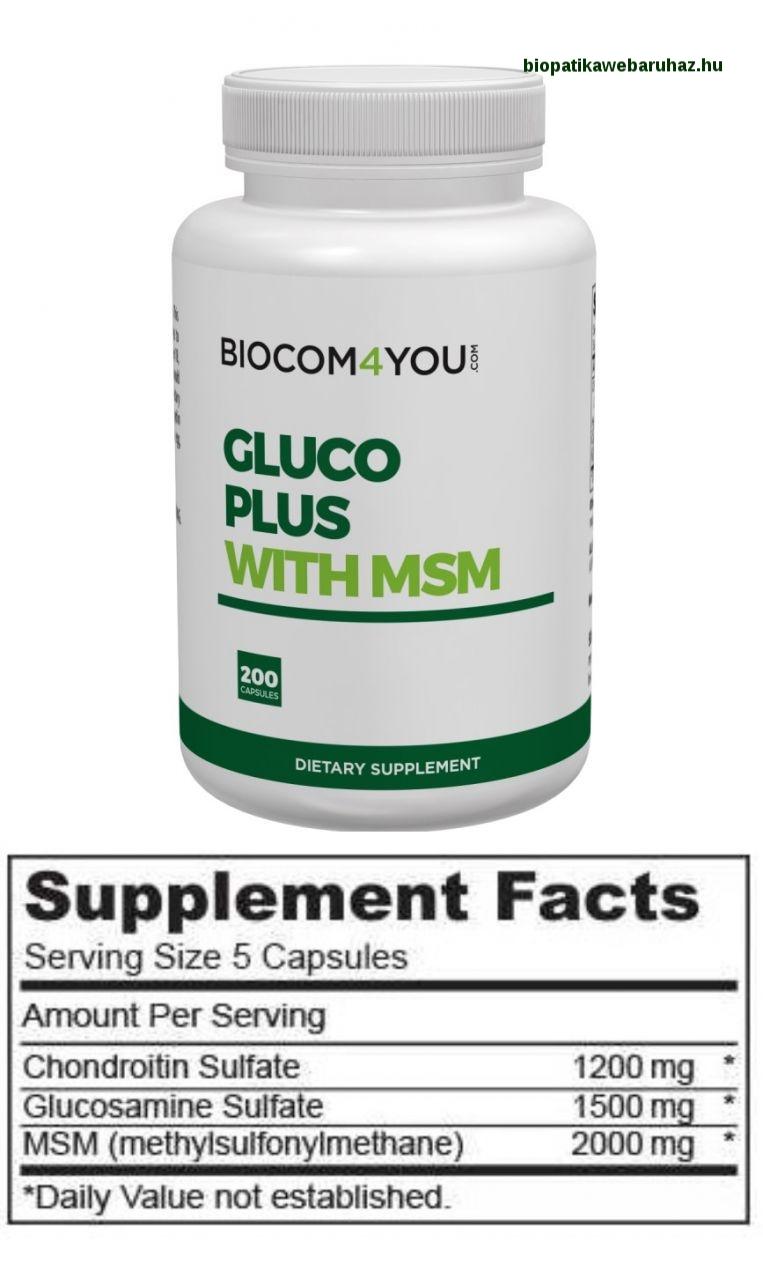 glükózamin-kondroitin komplex felhasználási módszer