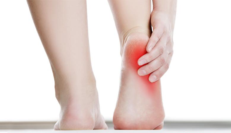 a láb műtétének kezelése