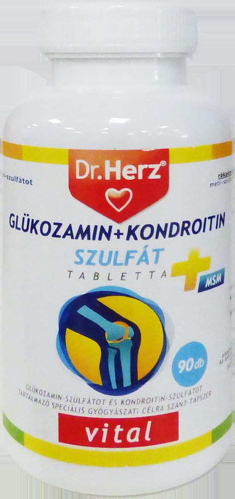 tabletták kondroitin és glükózamin címmel