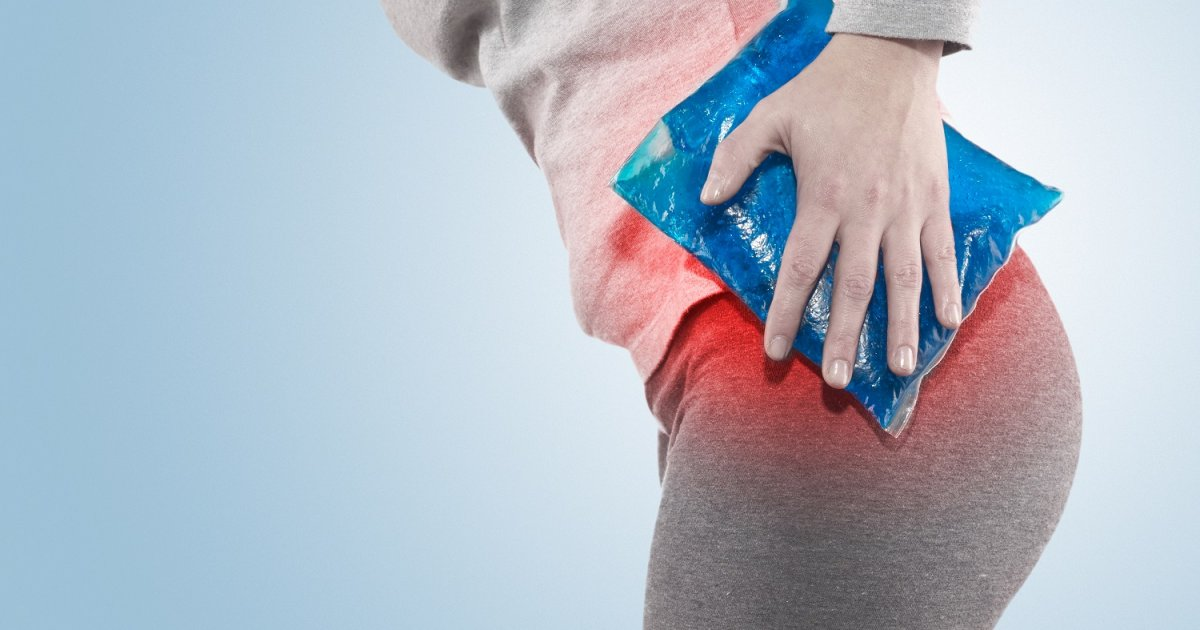 csípőfájdalom, amelyet az orvos kezel