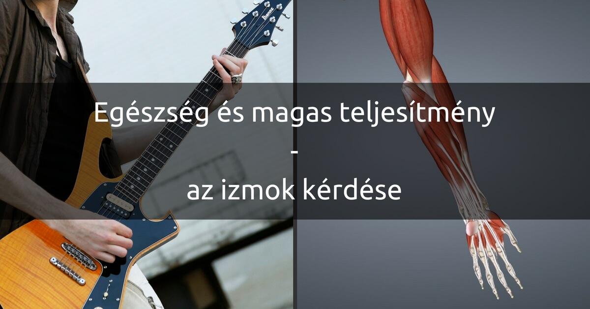 ízületi fájdalom egy gitáron