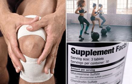 vásároljon chondroitint glükózaminnal a sportolók számára