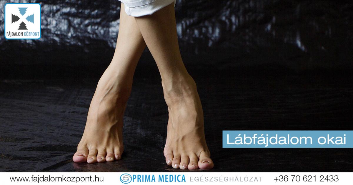 a lábízületek gyulladása okoz)