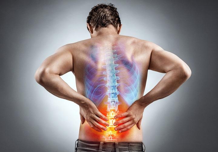 az ízületek gerincének hátuljának kezelése