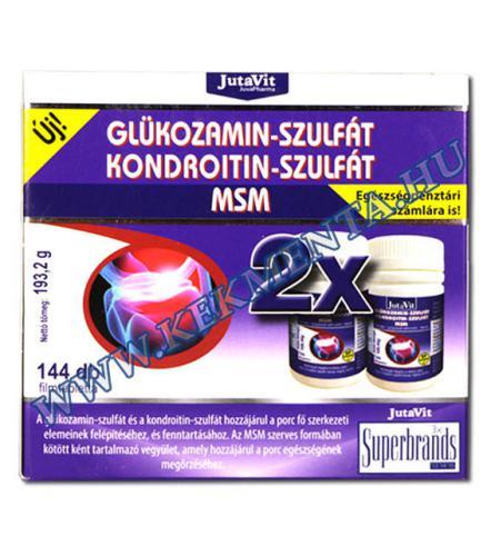 kondroitin és glükózamin tartalmú gyógyszerek