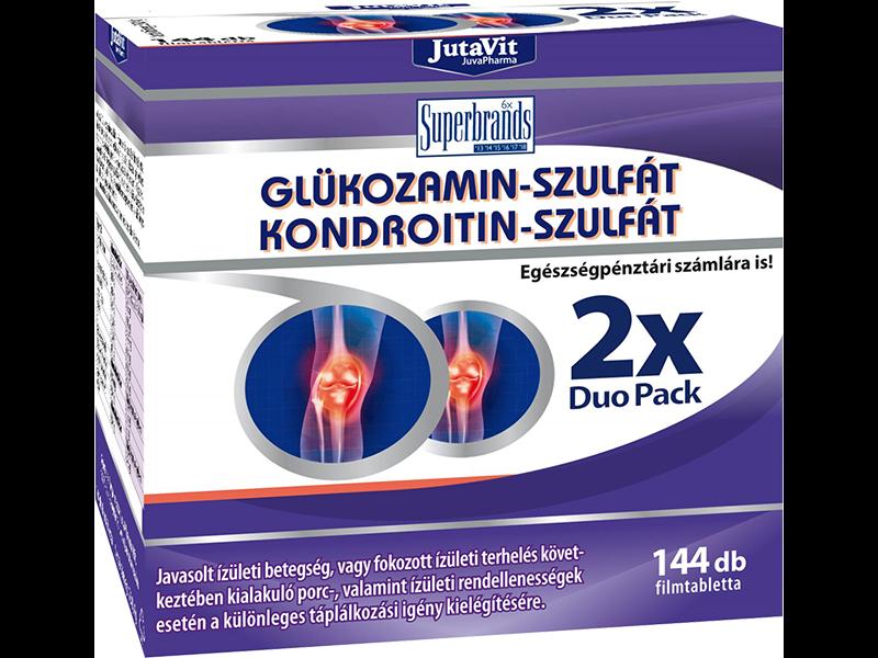 kondroitint és glükózamint tartalmazó termékek)