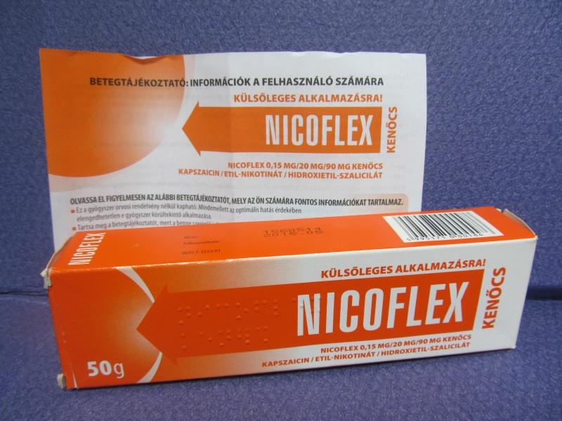 ízületi kenőcs nicoflex ár)