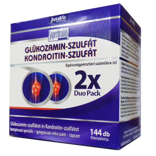 kondroitin- és glükózamin-tartalmú készítmények)